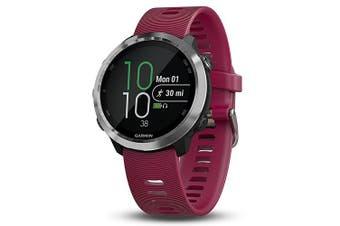 Garmin Forerunner 645 Music GPS Sport Watch - Cerise with Stainless Hardware
