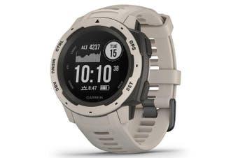 Garmin Instinct HRM GPS Sport Watch Tundra