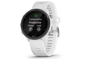 Garmin Forerunner 245 Music Silicone White Smart Watch  010-02120-31