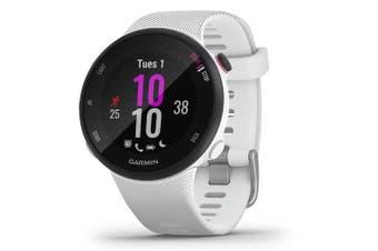Garmin Forerunner 45s GPS Sports Watch Small White