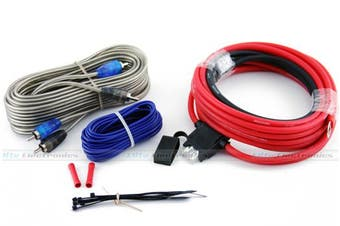 Kicker 09DCK10 10-Gauge 2-Ch Amp Wiring Kit