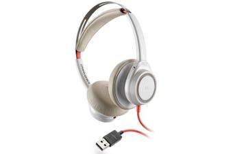 Plantronics Blackwire 7225 Wired Head-band Stereo Binaural Headset, USB-A, Black