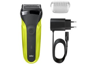 Braun 300S Series 3 Shaver & Trimmer Electric Clean Rechargeable Waterproof