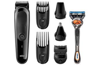 Braun 3060 MGK 8 in 1 Multi Groom Face Head Beard Hair Trim Kit