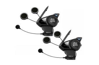 Sena 30K Dual Motorcycle Bluetooth Mesh-Network Intercom Headset