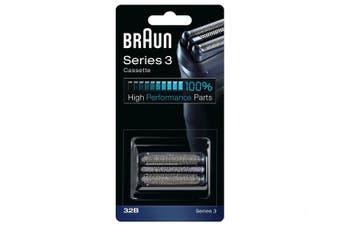 Braun 32B Replacement Cassette Foil & Cutter Black