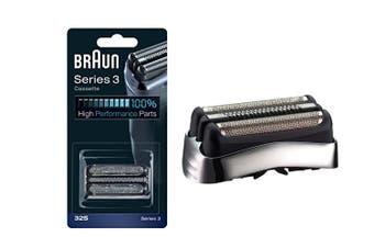 Braun 32S Replacement Cassette Foil & Cutter Silver