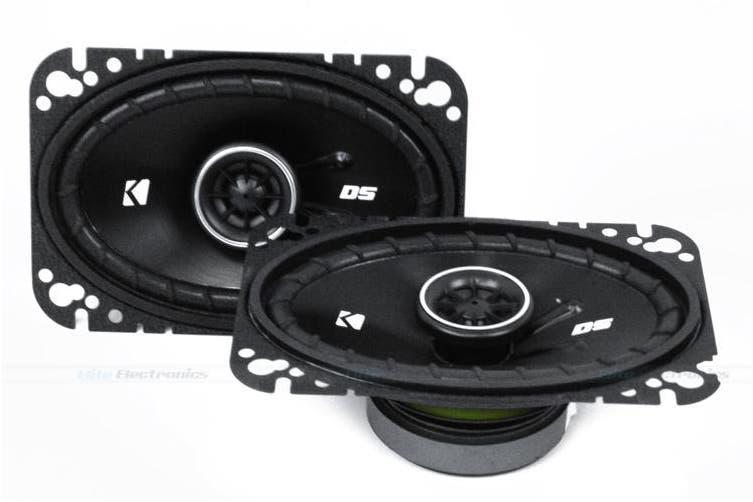 """Kicker 43DSC4604 DS Series 4""""x6"""" 2-Way Coaxial Speaker Pair DSC4"""