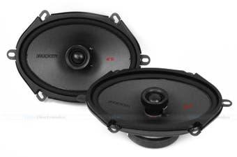"Kicker 44KSC6804 6x8"" 75W RMS 2-Way Coaxial Car Speakers"