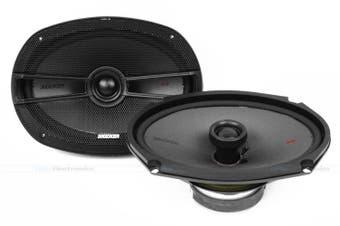 "Kicker 44KSC6904 6x9"" 150W RMS 2-Way Coaxial Car Speakers"