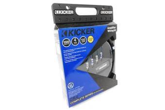 Kicker 46CK4 K-Series 4 AWG 4ga Car Audio Amp Installation Kit