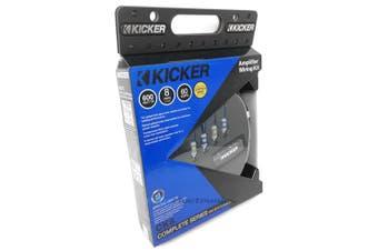 Kicker 46CK8 K-Series 8 AWG 8ga Car Audio Amp Installation Kit
