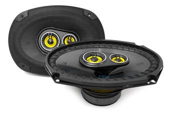 "Kicker 46CSC6934 CS Series 6x9"" 150 Watts RMS 3-Way Car Speakers"