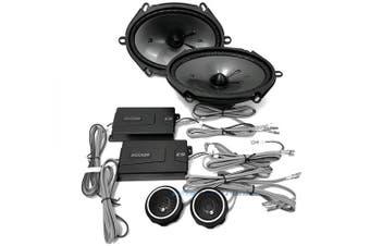 "Kicker 46CSS684 CS Series 6x8"" 75 Watts RMS Component Speakers"