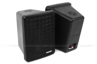 "Kicker 46KB6B 6.5"" 2-Way Indoor Outdoor Marine Speakers Black Pair"