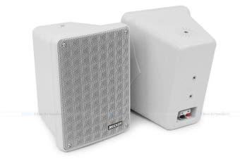 """Kicker 46KB6G 6.5"""" 2-Way Indoor Outdoor Marine Speakers Grey Pair"""