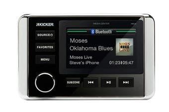Kicker 46KMC4 Marine Digital Media Bluetooth Receiver For Boat ATV UTV