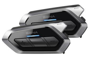 Sena 50R Low Profile Dual Motorcycle Bluetooth Mesh Intercom 50R-01D