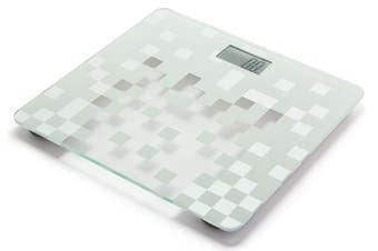 Tanita HD-380 150kg Digital Bathroom Scale Checkered White