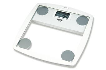 Tanita HD-355 150kg Capacity Safety Glass White Digital Bathroom Scale