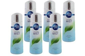 Ambi Pur 300g Air & Fabric Mist Refill Bambo (6 Pack)