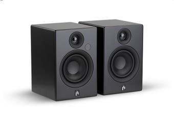 Aperion Allaire Bluetooth Bookshelf Speakers (Matt black, Pair)