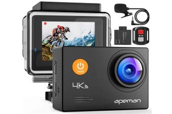 Apeman A79 4K Action Camera 16MP Underwater Waterproof Sport Camera