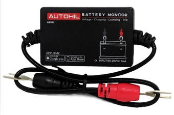 Autohil ABM2 Bluetooth Battery Voltage Monitor for iOS Android