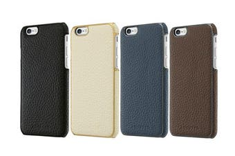 Adopted Leather Wrap Case - iPhone 6 & 6S - Navy/Gunmetal