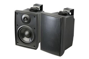 """Accento Dynamica ADS6200 6.5"""" Indoor Outdoor Speakers Black Pair"""
