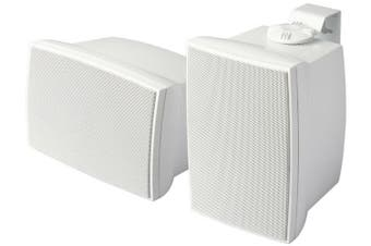 """Accento Dynamica ADS6200 6.5"""" Indoor Outdoor Speakers White Pair"""