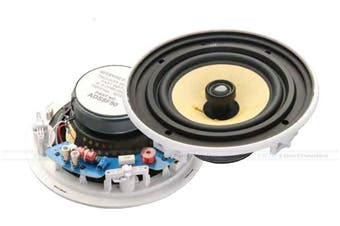"""Accento Dynamica 8"""" 2way In-Ceiling Speaker Quick Install HIFI - ADS8F80"""