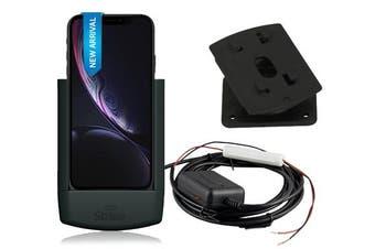 Strike Alpha Apple iPhone XR Charging Car Cradle Kit: Hardwire