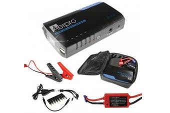 Aerpro AP12000J 500amp Portable Jump Starter Kit & Battery Bank
