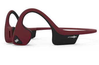 Aftershokz Trekz Air Wireless Bone Conducting Ear Headphone Red