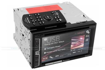 """Pioneer AVH-X1850DVD 6.1"""" iPhone iPod Android DVD Player"""