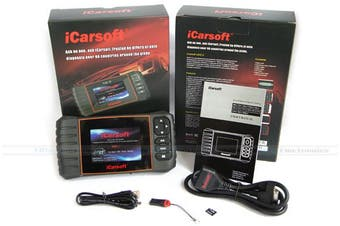 iCarsoft BCC II Jeep Chrysler OBD2 Diagnostic Code Scanner Tool