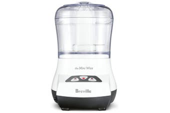 Breville Mini Wizz Compact 250 Watt Food Processor White BFP100WHT