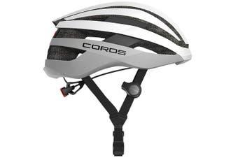 Coros SafeSound Road Smart Cycling Bluetooth Helmet Tail Light White Medium