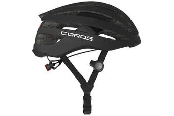 Coros SafeSound Road Smart Cycling Bluetooth Helmet Tail Light Black Small