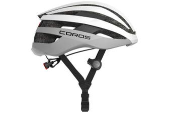 Coros SafeSound Road Smart Cycling Bluetooth Helmet Tail Light White Small