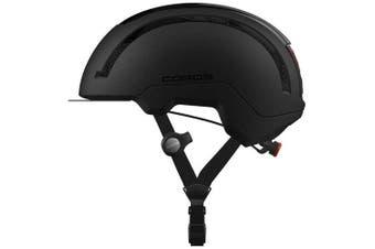 Coros SafeSound Urban Smart Cycling Bluetooth Helmet Tail Light Black Medium