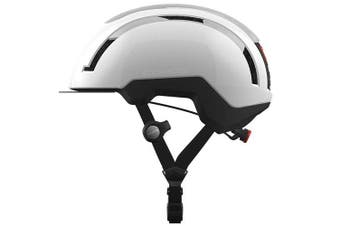 Coros SafeSound Urban Smart Cycling Bluetooth Helmet Tail Light White Medium