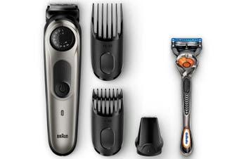 Braun BT5060 Men BeardTrimmer & Hair Clipper w/ Detail Attachment