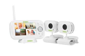 Uniden BW3102 Digital Wireless Baby Monitor + 2 Cameras