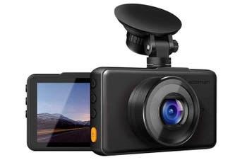 """Apeman C450A 1080P Full HD 30fps Night Vision Dash Camera 3"""" Display"""