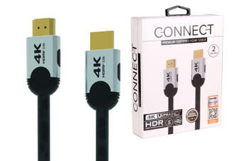 Laser CB-HDMI2-4K HDMI 2.0 Premium Certified 4K 2m Cable