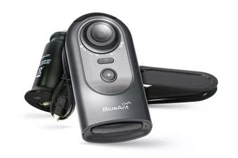 BlueAnt Commute3 Voice Activated Handsfree Kit - Black/Silver