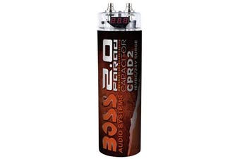 Boss Audio CPRD2 2.0 Farad Digital Capacitor