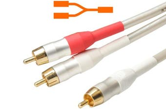 Accento Dynamica Mono to Stereo Audio Lead Interconnect Cable Length: 1.2M